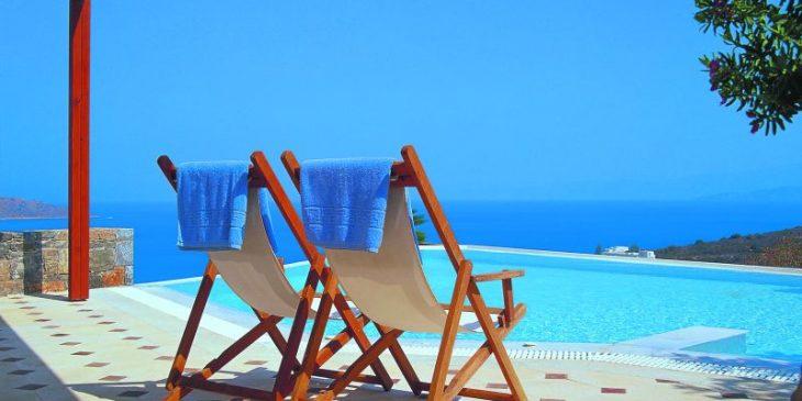 Infinity Pool at Elounda Gulf Villas and Suites
