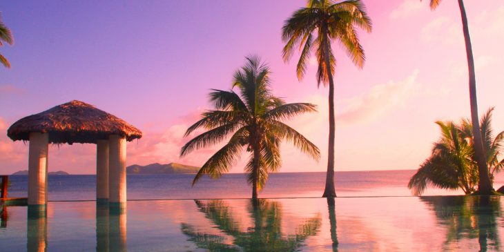 Infinity Pool at Mana Island Resort