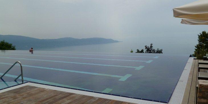 Infinity Pool at Lefay Resort and Spa, Italy