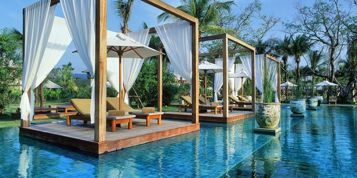 Infinity Pool at The Sarojin, Thailand