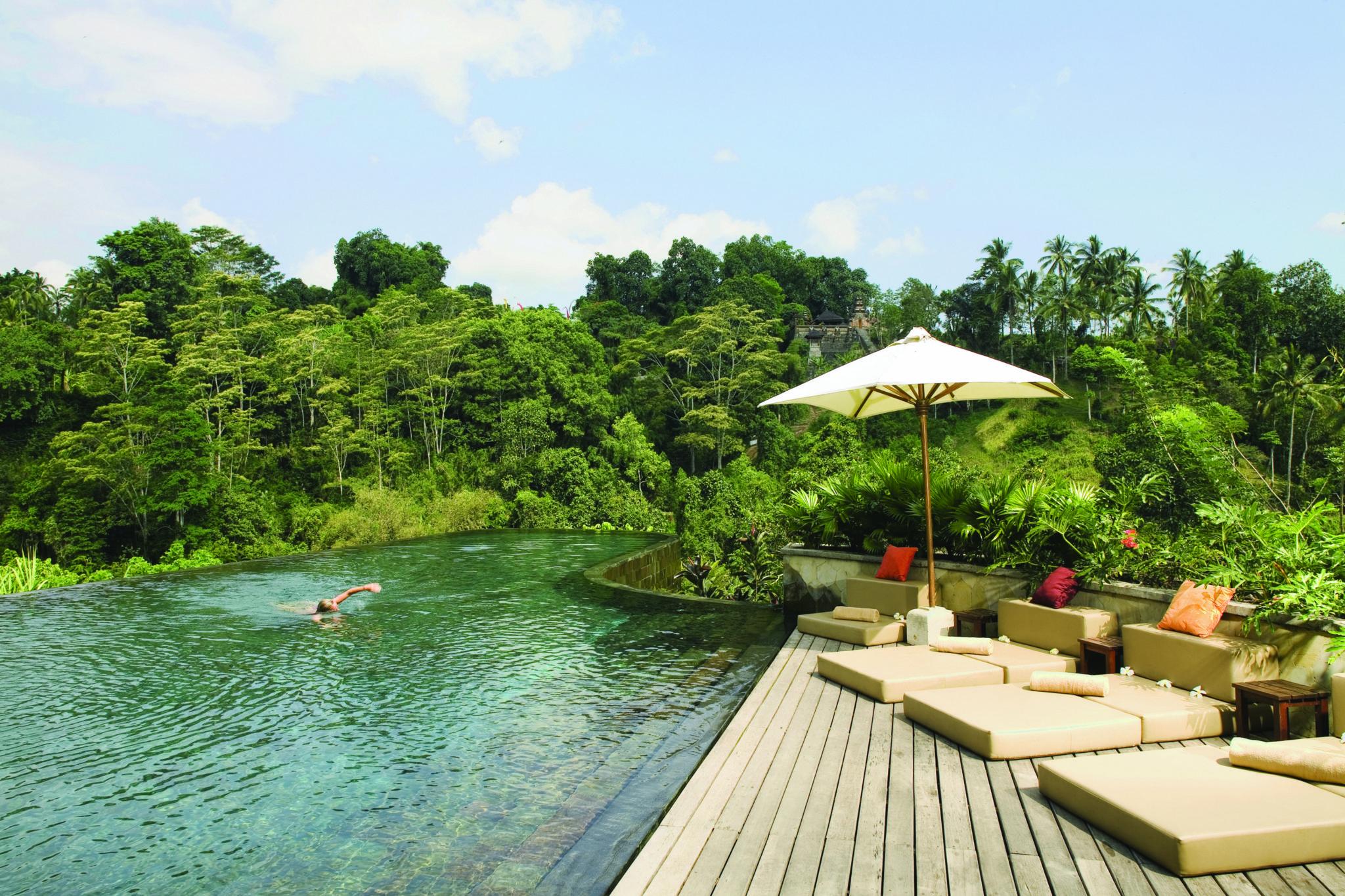 ubud hanging gardens, bali, indonesia | infinity pools