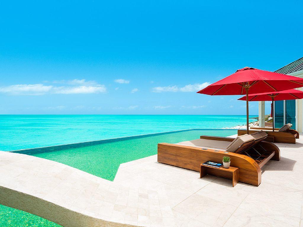 Villa Balinese Turks And Caicos Infinity Pools