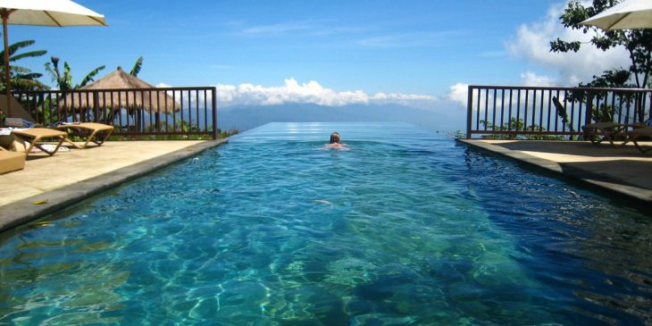 Pool at the Munduk Moding Plantation, Bali