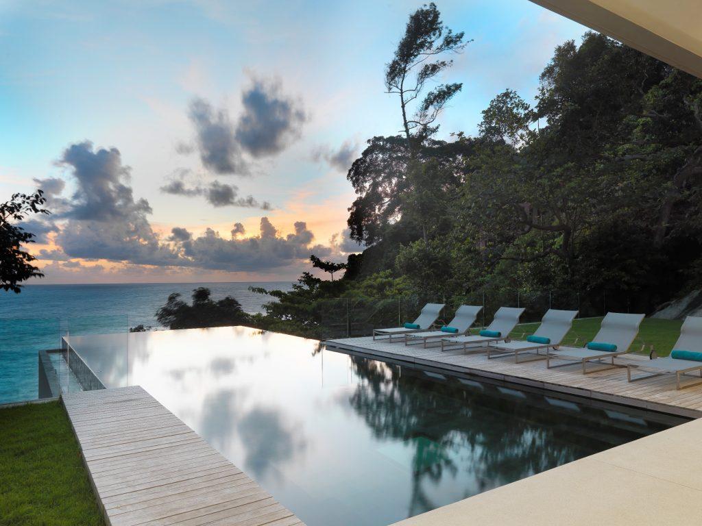 Villa amanzi thailand infinity pools for Pool design company radom polen