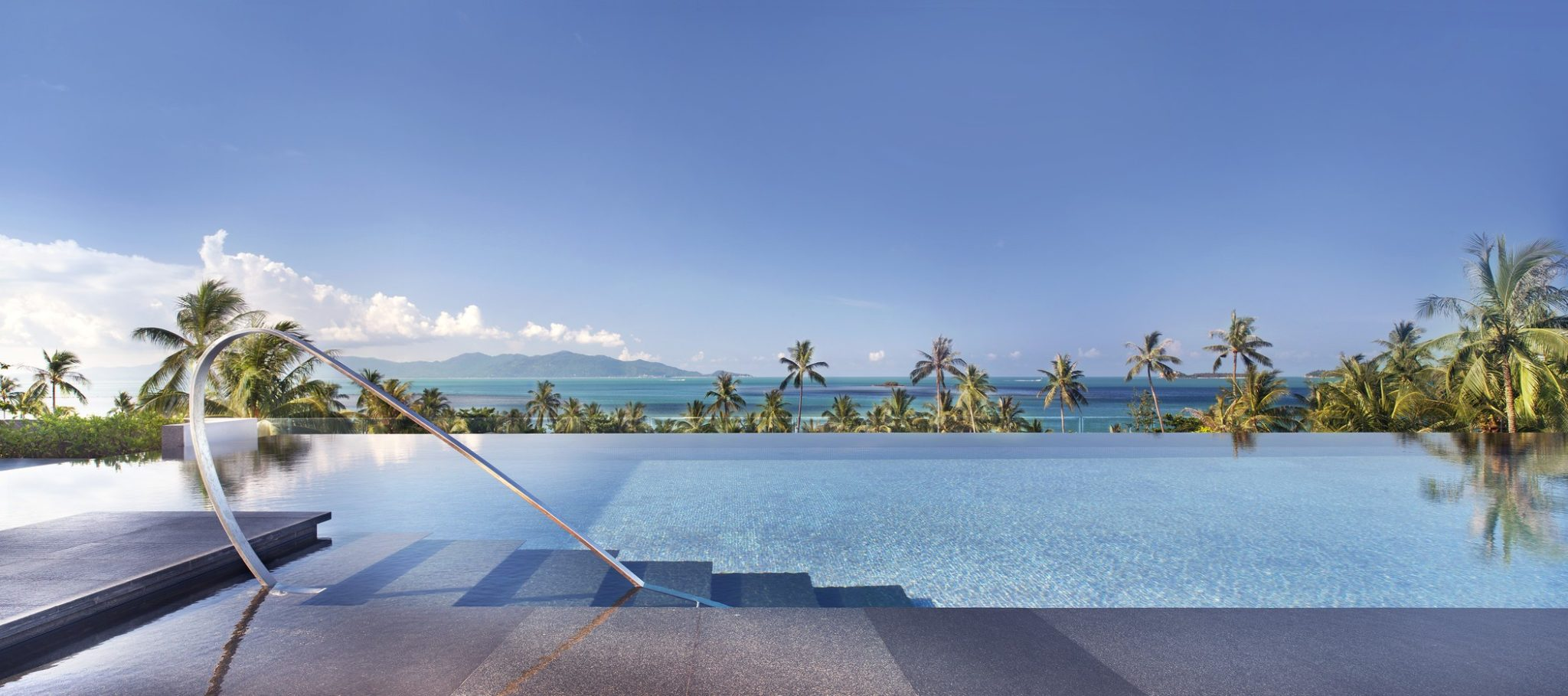 W Retreat Koh Samui Resort and Spa, Thailand  Infinity Pools