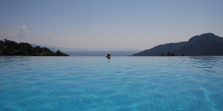 Infinity Pool at the Dionysos Hotel, Turkey