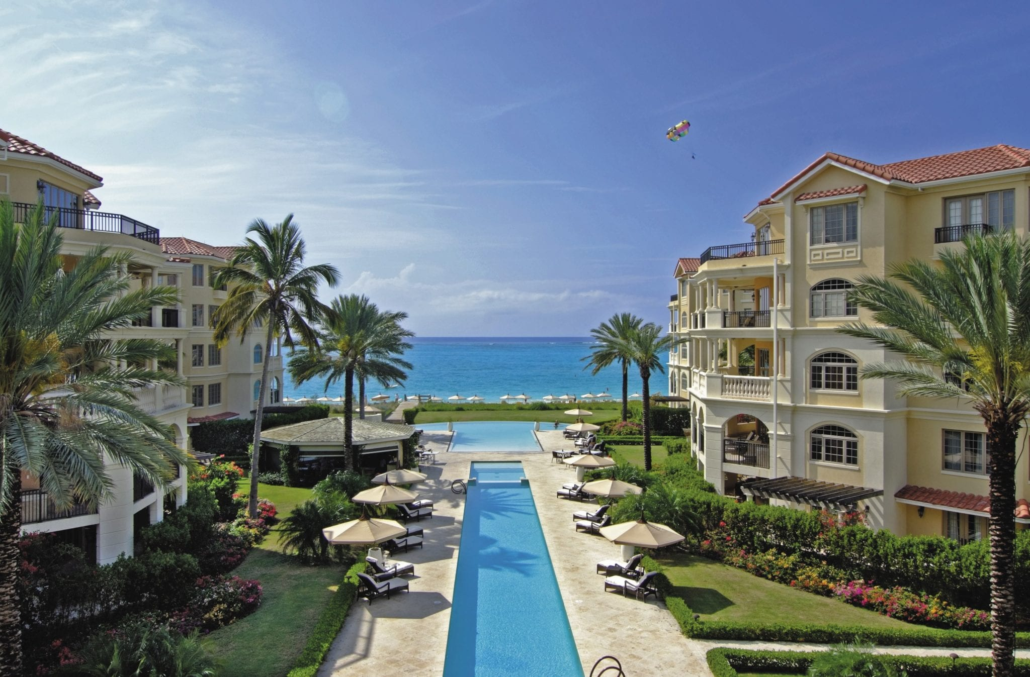 The Somerset At Grace Bay Turks And Caicos Infinity Pools