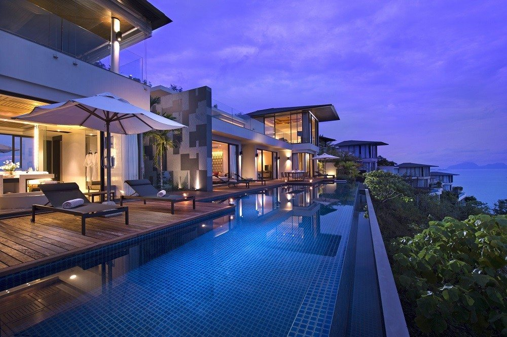 Conrad Koh Samui Thailand Infinity Swimming Pools