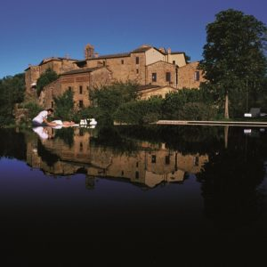 Castel Monastero, Italien Image