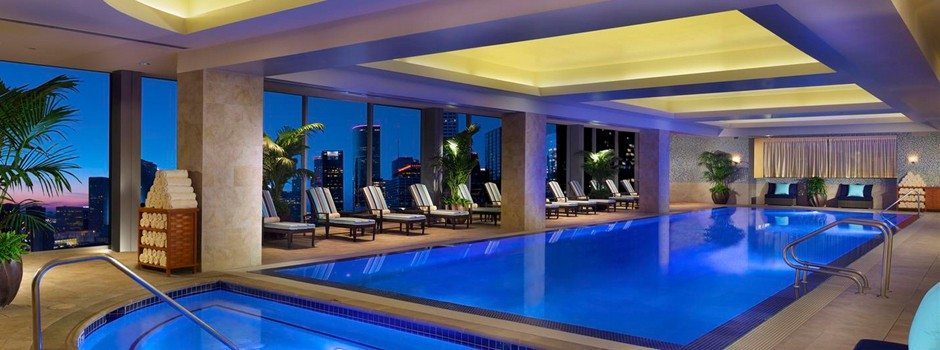 Hilton Americas Houston Texas Infinty Swimming Pools