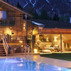 The Willy Bogner Chalet, Austria Image