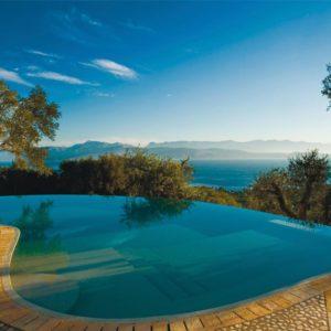 Prosilio (Corfu), Greece Image