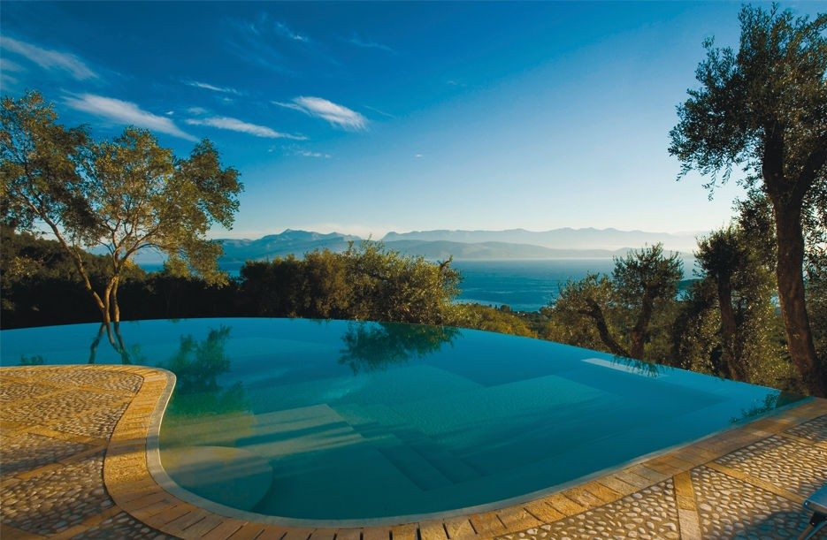 Prosilio (Corfu), Greece | Infinity Pools