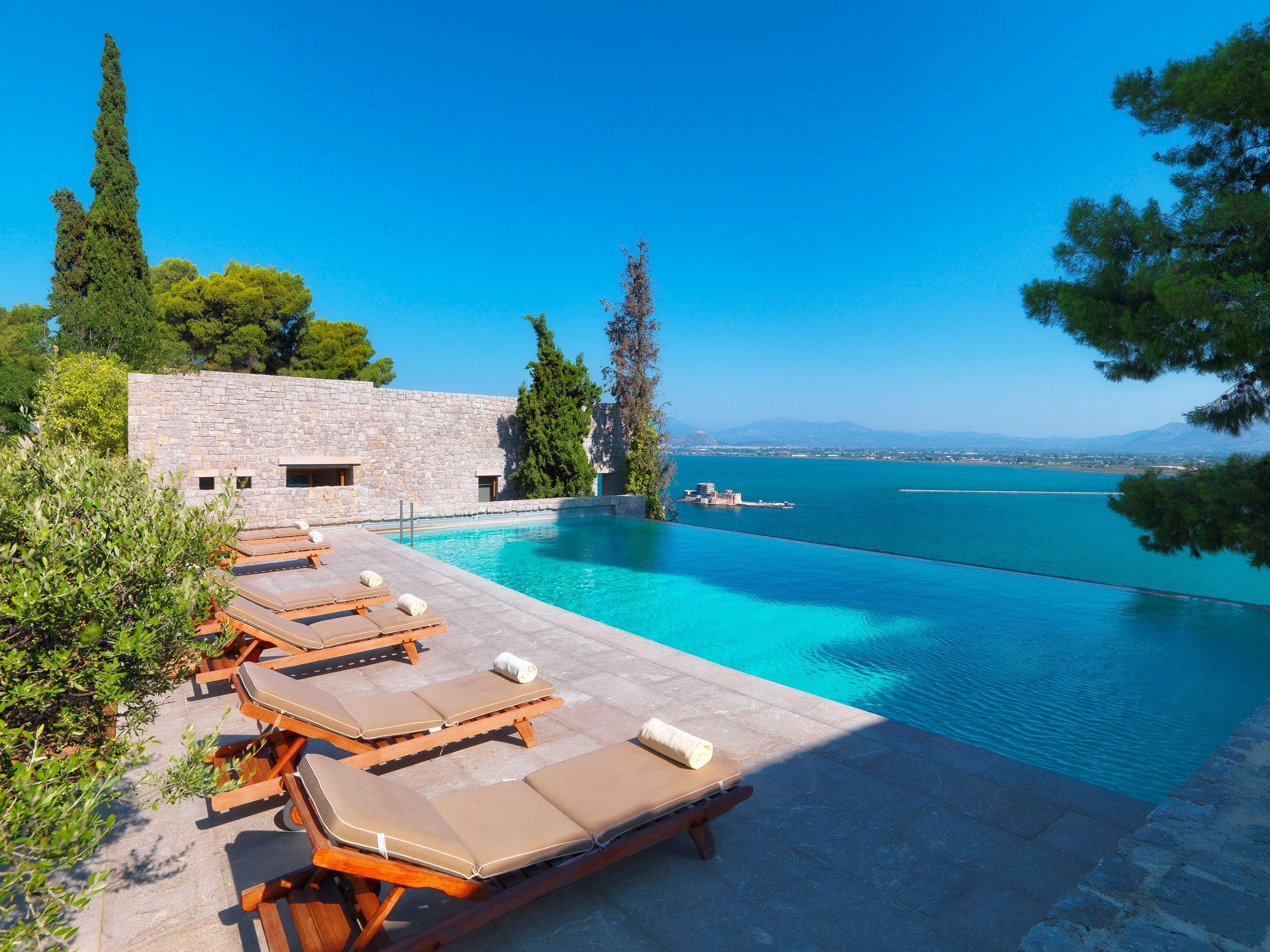 Nafplia Palace Hotel Villas Nafplio Greece Infinity Pools