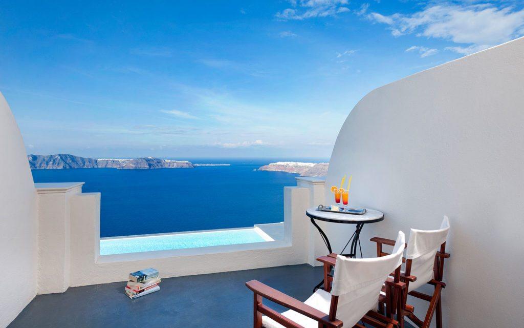 Anastasis Apartments, Santorini, Greece | Infinity Pools
