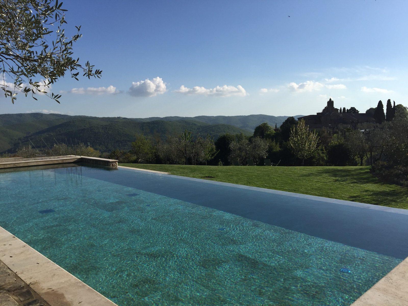 Villa le barone italy infinity pools - Infinity pool europe ...