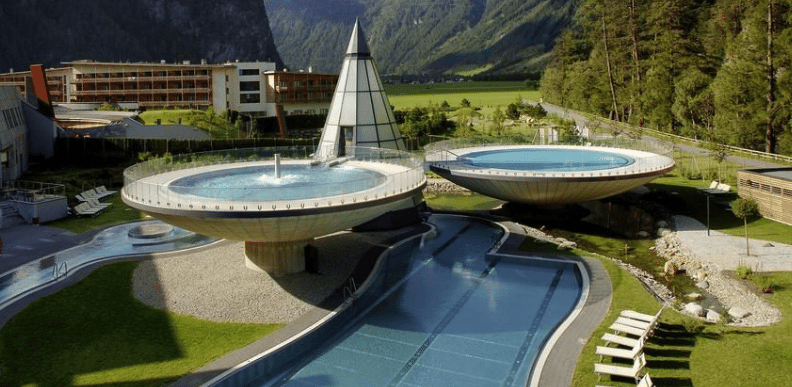 Amazing infinity pools in the alps infinity pools - Infinity pool europe ...