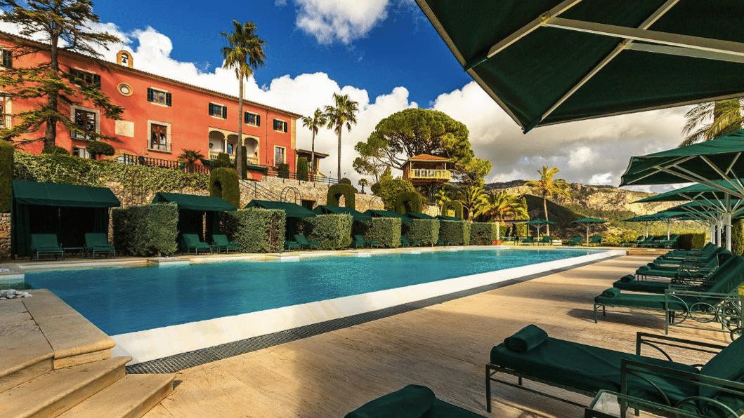 Gran Hotel Son Net Majorca Spain Infinity Pools