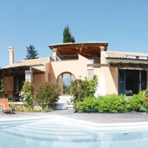 Villa de Bono (Corfu), Greece Image