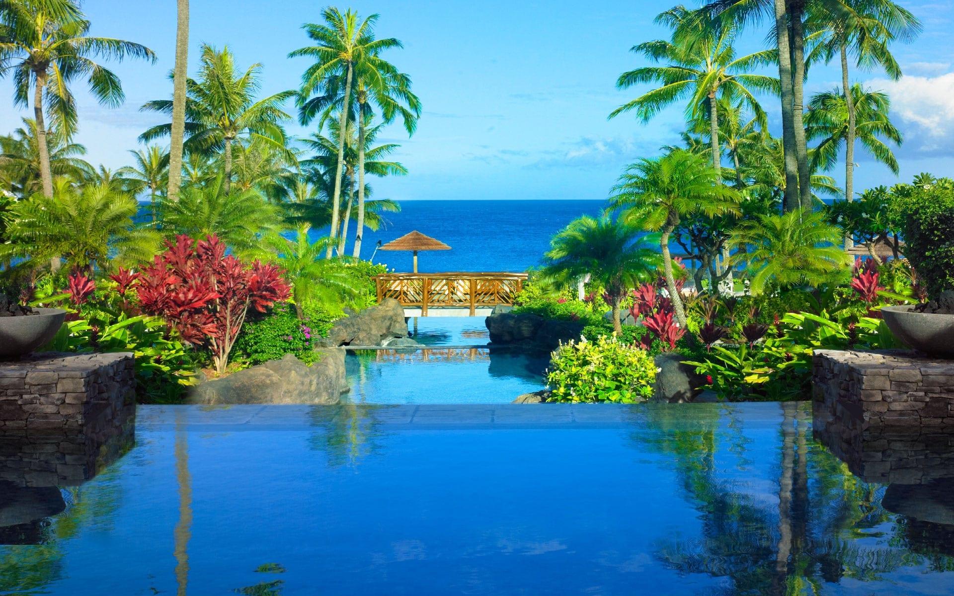 Montage Kapalua Bay Lahaina Maui Hawaii Infinity Pools